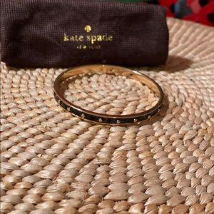 Kate Spade New York Black/Gold Bangle